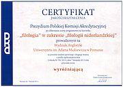Miniatura certyfikatu z linkiem do powiększenia