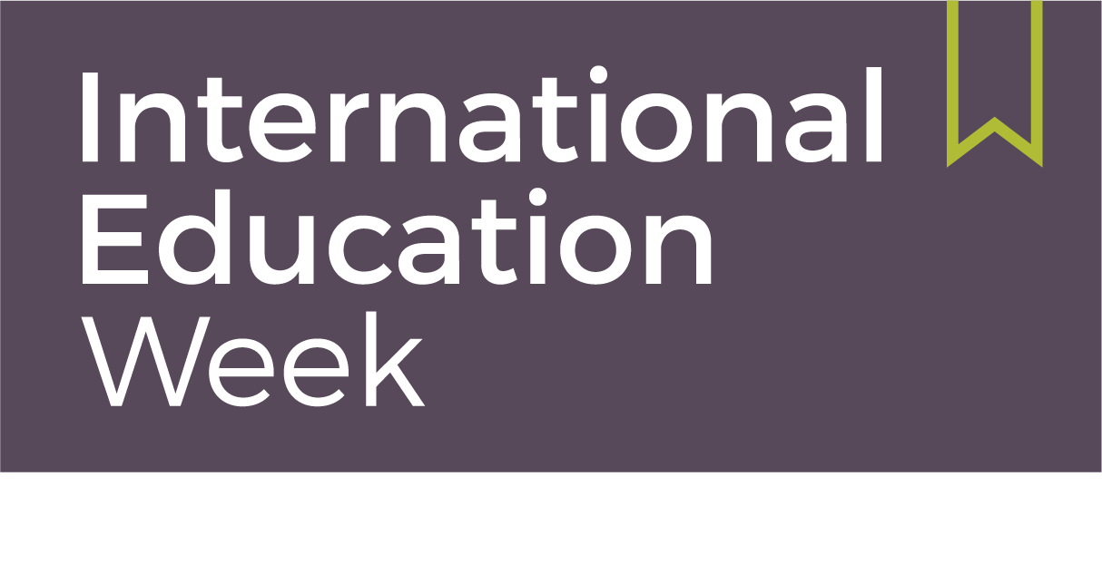 logotyp International Education Week