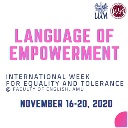 Image for Language of Empowerment @Faculty of English