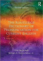 Routledge Dictionary of Pronunciation cover