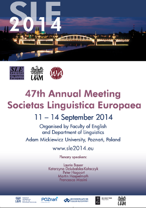 SLE 2014 poster